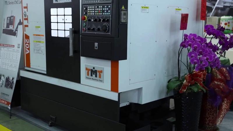 Токарный станок с ЧПУ TMT TTL-20A