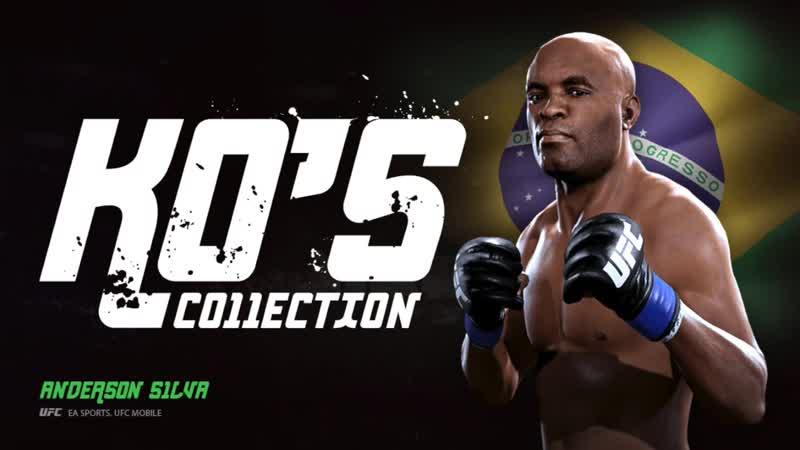 EA SPORTS UFC Mobile. KO'S Collection. Anderson Silva.mp4