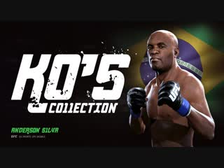EA SPORTS UFC Mobile. KO'S Collection. Anderson Silva.mp4