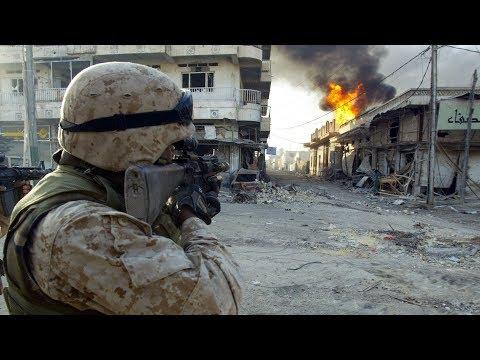US Marines Heavy Firefight in Iraq WAR IN IRAQ BF4 Milsim