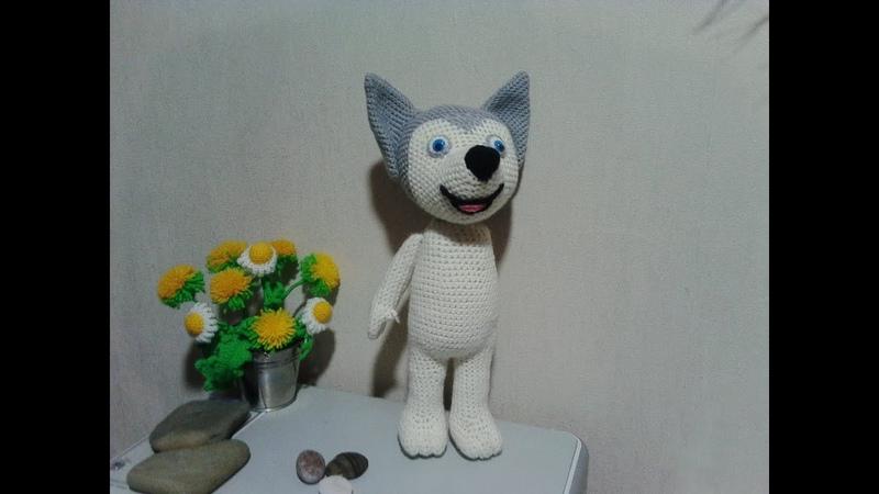 Лайка, ч.2. Husky, р.2. Amigurumi. Crochet. Игрушки. Амигуруми.