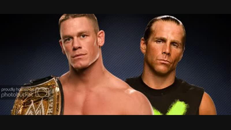 Wrestling Online - John Cena vs Shawn Michaels_WrestleMania 23 (Стрим 50)