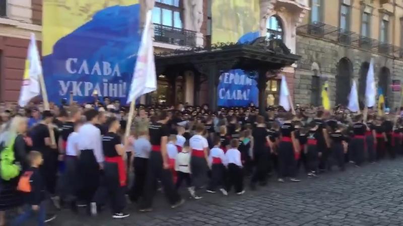 День захисника України. Військовий парад у Львові. 14 жовтня 2018 р. (частина перша)