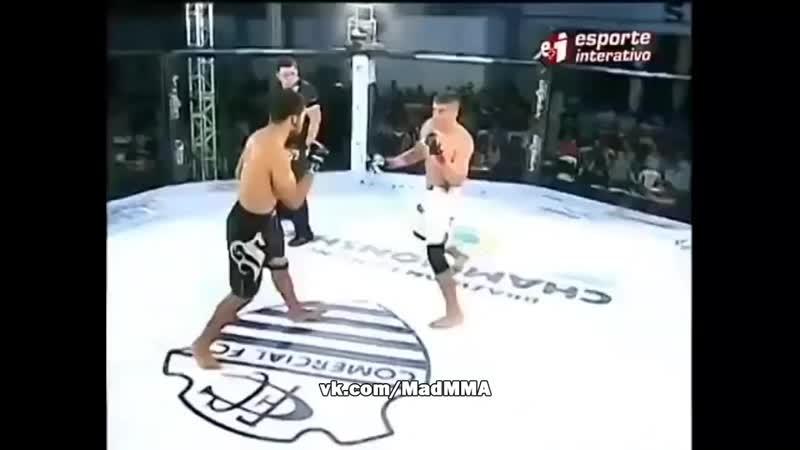 Mad MMA - vines (Нокаут с бразильской вертушки, удар из капоэйры )