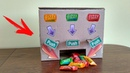 How to Make MULTI Chewing Candy Gum Vending Machine from Cardboard at Home DIY
