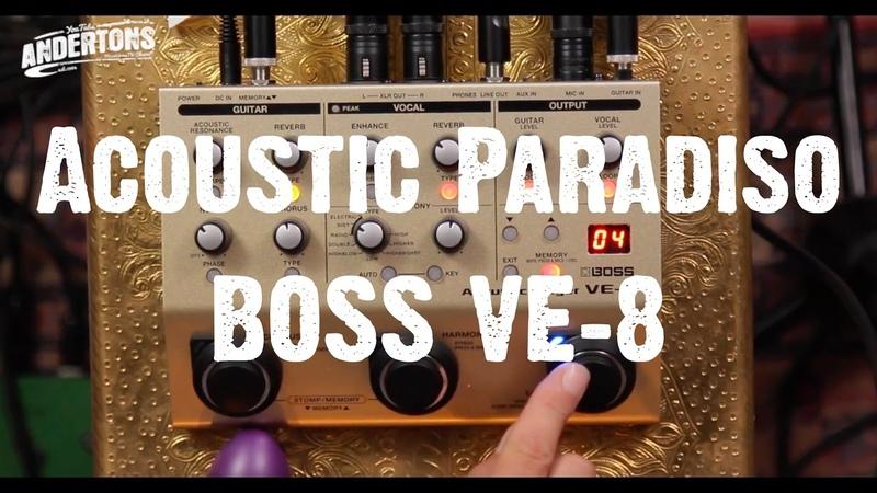 Acoustic Paradiso - BOSS VE-8 - Petes Beats Micks Licks