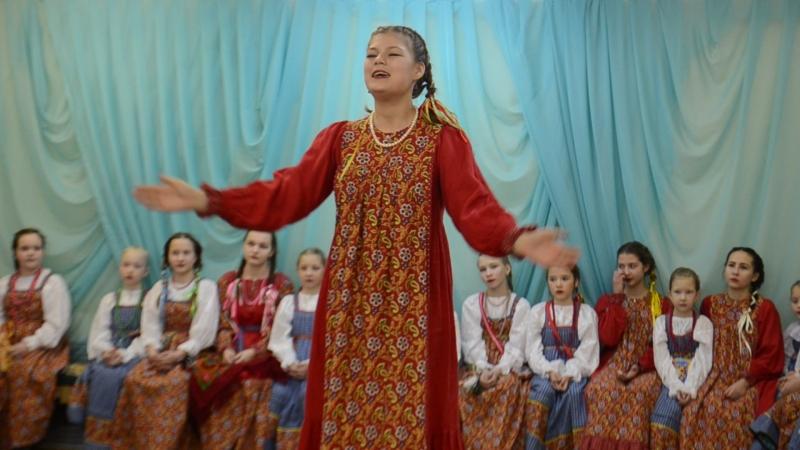 Холмогорова Олеся. Отчетный концерт. декабрь 2017