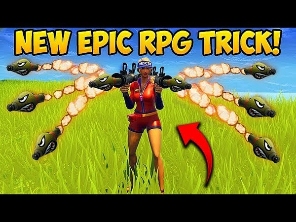 NEW CRAZY RPG TRICK! - Fortnite Funny Fails and WTF Moments! 291