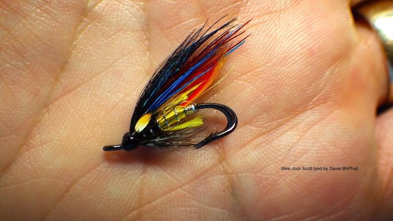 Tying a Wee Jock Scott Salmon Fly by Davie McPhail