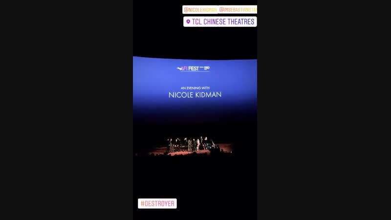 Премьера фильма «Разрушительница» в рамках фестиваля Американского института киноискусства   13.11.18