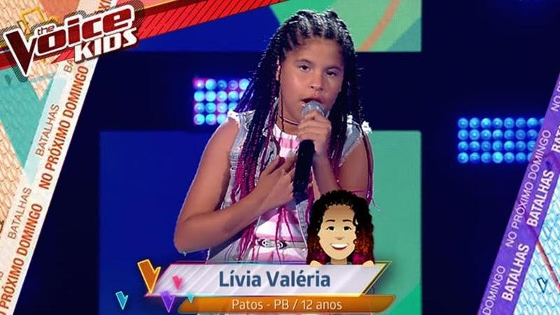 Livia Valéria - O Errado Sou Eu |The Voice Kids Brasil 2019