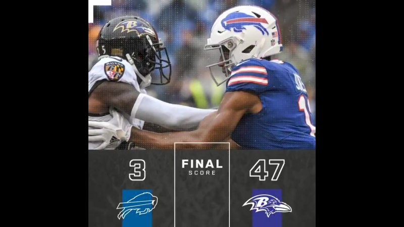 Final from Baltimore. - - BUFvsBAL