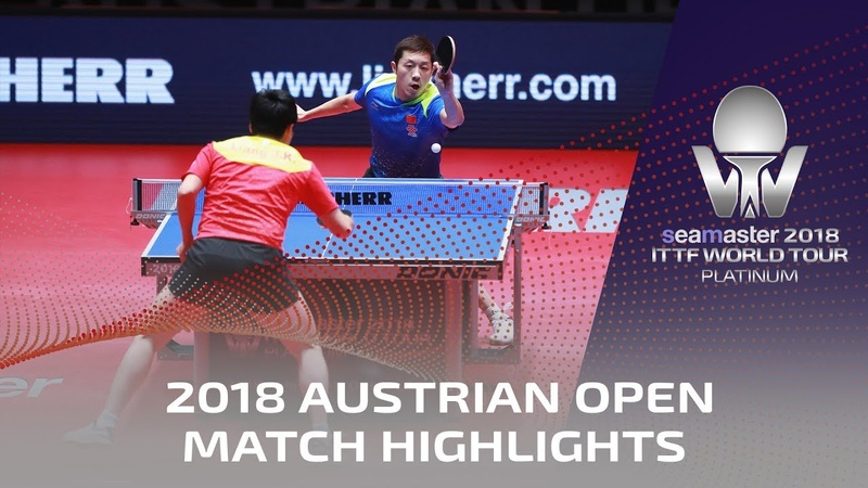 Xu Xin vs Liang Jingkun I 2018 ITTF Austrian Open Highlights (Final)