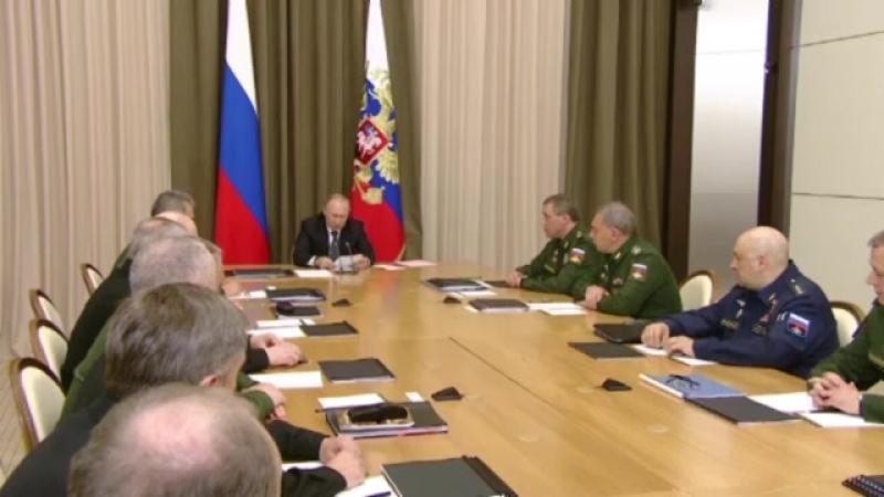 Совещание с руководством Министерства обороны