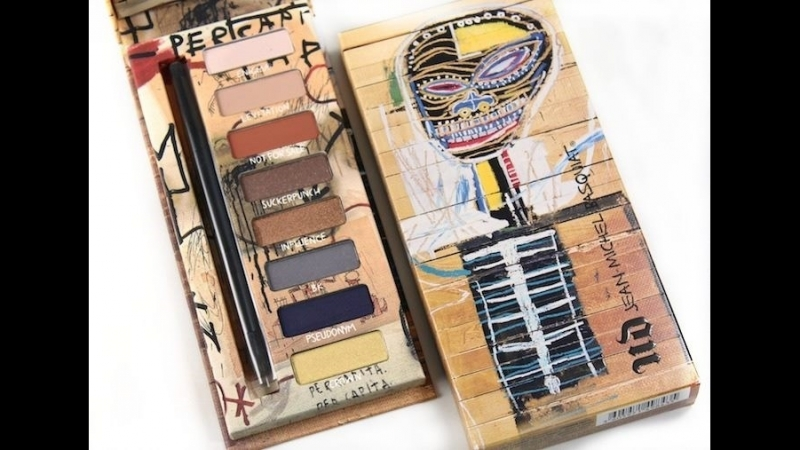 Urban decay jean michel basquiat