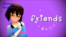 MMD - Undertale (Frisk) - Friends (Motion DL)