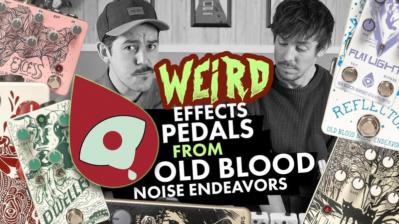 Weird Effects Pedals from Old Blood Noise Endeavours!