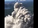Извержение вулкана на Камчатке, август 2018