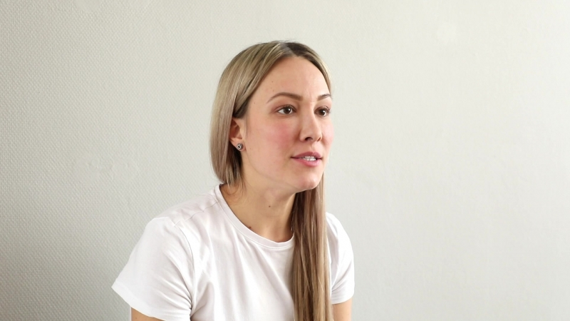 Видеовизитка актрисы (Ирина Минеева)