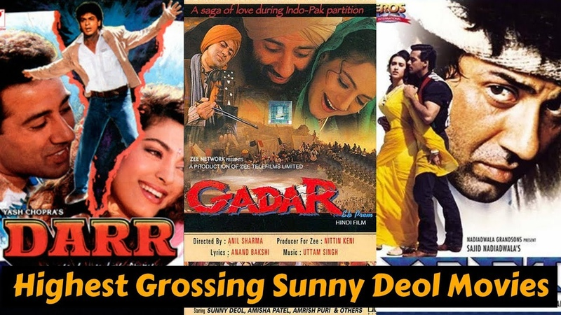 10 Highest Grossing Best Movies of Sunny Deol with Box Office Collection