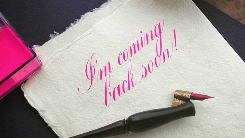Inspiring Copperplate Calligraphy