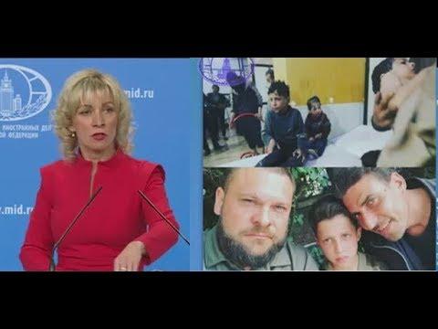 Срочно Мария Захарова открыла ПРАВДУ Западу на провокацию Белых касок и их кураторов в Сирии