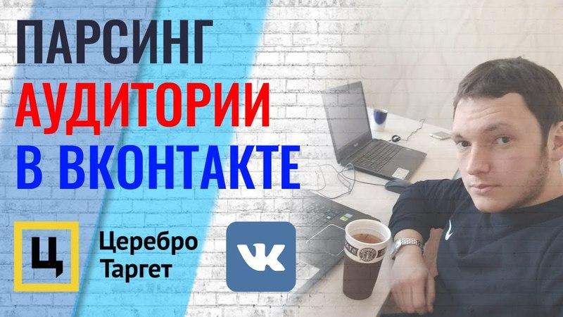 Как в Вконтакте парсить аудиторию для рекламы Оптимизация рекламы ВК