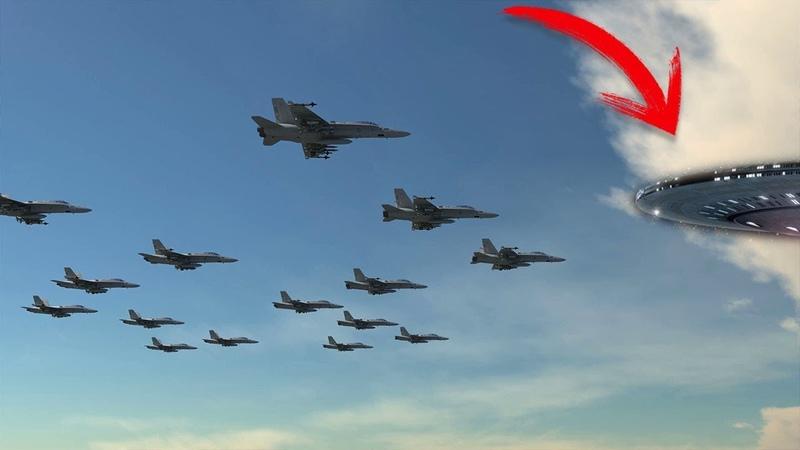 戦闘機がUFOについて行く信じられない動画TOP7