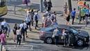 В Калининграде столкнулись легковой автомобиль и маршрутное такси