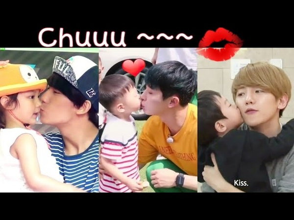 KPOP IDOLS Kisses With The Lucky Kids 👶💋(Try Not To Be Those Kids)