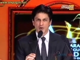 Apsara 2008 Yash Chopras Outstanding Contribution Award given by SRK