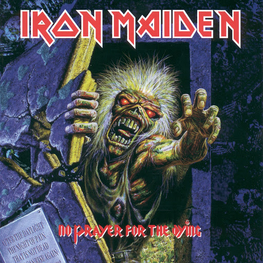 Iron Maiden альбом No Prayer For The Dying (2015 Remaster)