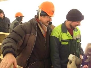 Памятное видео с Володей Стрельцовым. ( Археологические раскопки на Охте). 2009 год.