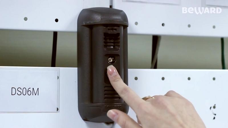 BEWARD DS06M IP домофон встроенное распознавание лиц