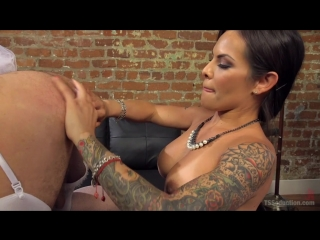 TS Foxxy - Punished By Her Dominating Cock