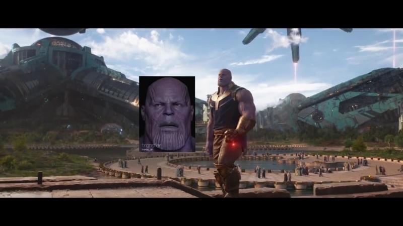 Компьютерная графика «Мстителей: Война бесконечности» / Avengers: Infinity War (2018)