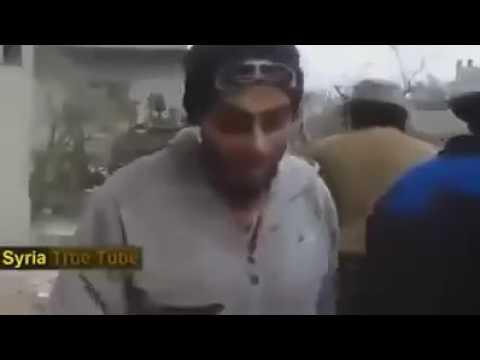 Сирия Боевика снял снайпер, Sirya
