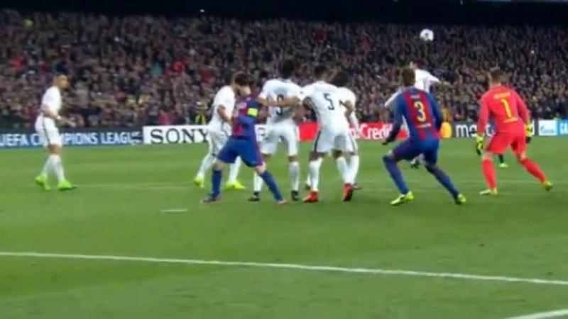 Гол Sergi Roberto в ворота PSG