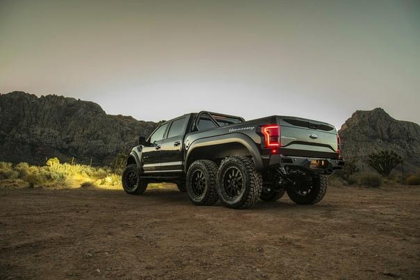 Очень редкие : Hennessey VelociRaptor 6x6 Двигатель: 3.5 V6 EcoBoost Мощность: 605 л.с. Крутящий момент: 843 Нм Разгон до 60 миль/ч: 4.9 сек Тираж: 50 экземпляровСтоимость: $349,000