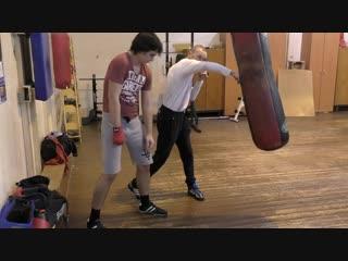 Бокс Техника правого прямого удара для начинающих