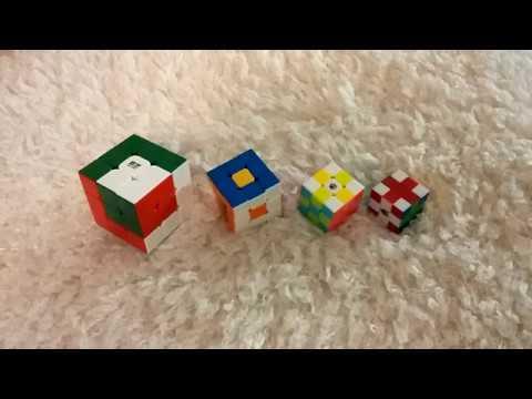 УЗОРЫ на кубике Рубика - ЗАБАВНО
