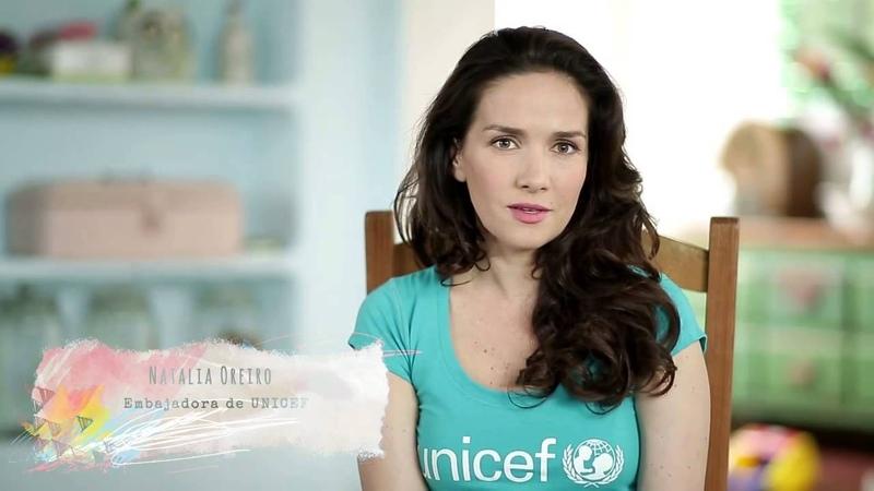 """Natalia Oreiro . CAMPAÑA """"SON ADOLESCENTES"""" DE UNICEF URUGUAY"""