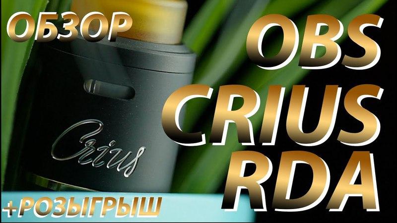 Crius RDA от OBS | Обзор Розыгрыш