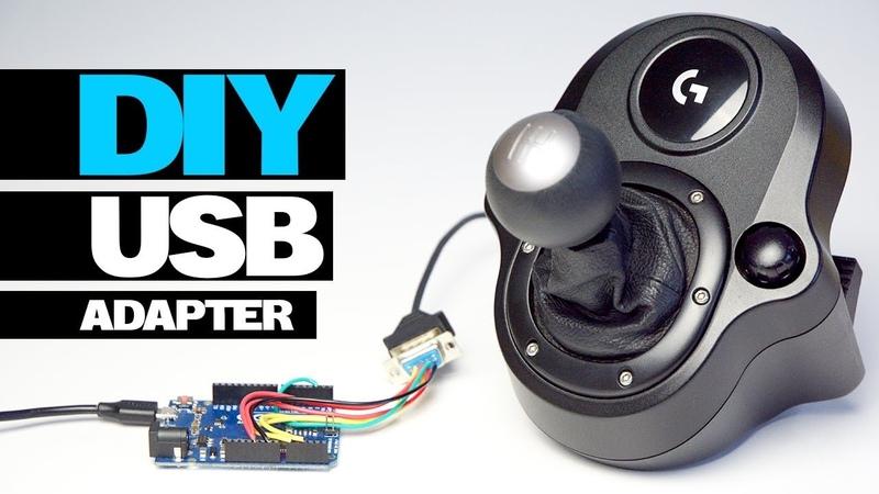 DIY LOGITECH USB SHIFTER ADAPTER DRIVING FORCE