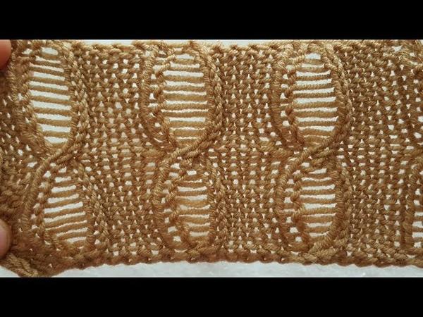Karnıyarık Örgü Modeli - Sökmeli Örgü Modelinin Yapılışı - Blended Knitting Pattern -