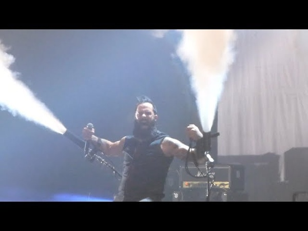 Skillet - Sick of It @ Adrenaline Stadium, Moscow, 23.04.19
