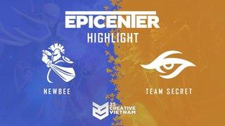 Highlight Epicenter 2018   Team Secret vs Newbee   Bo 3
