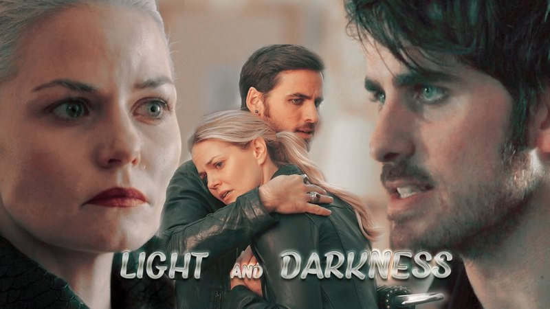 Hook and Emma    LIGHT and DARKNESS