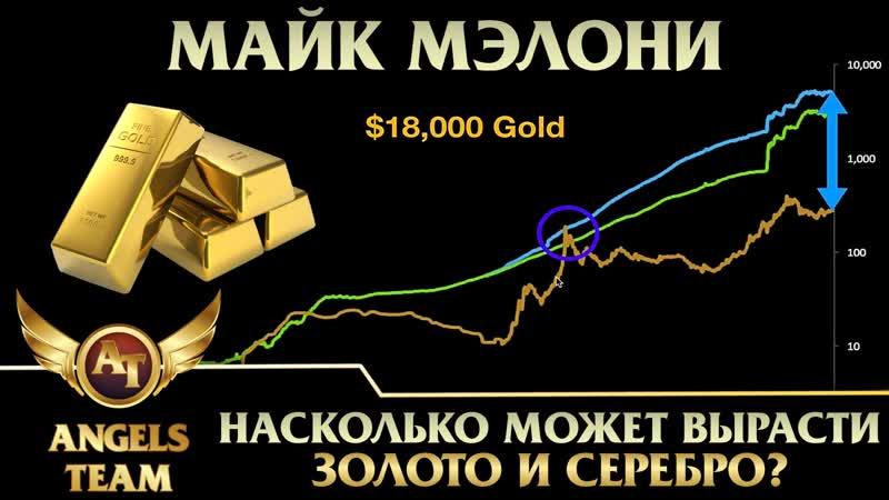 Майк Мэлони Насколько может вырасти золото и серебро