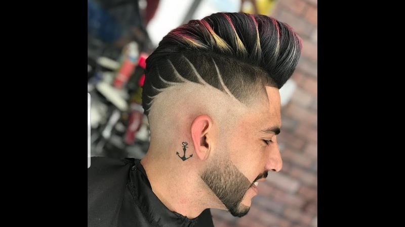 The best cuts and hairstyles of gentlemen's barber shop 2018